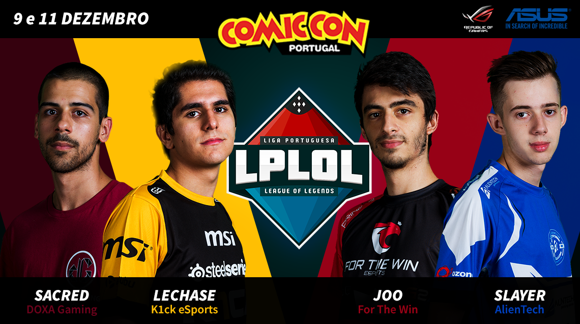 Grande Final da LPLOL na Comic Con Portugal!