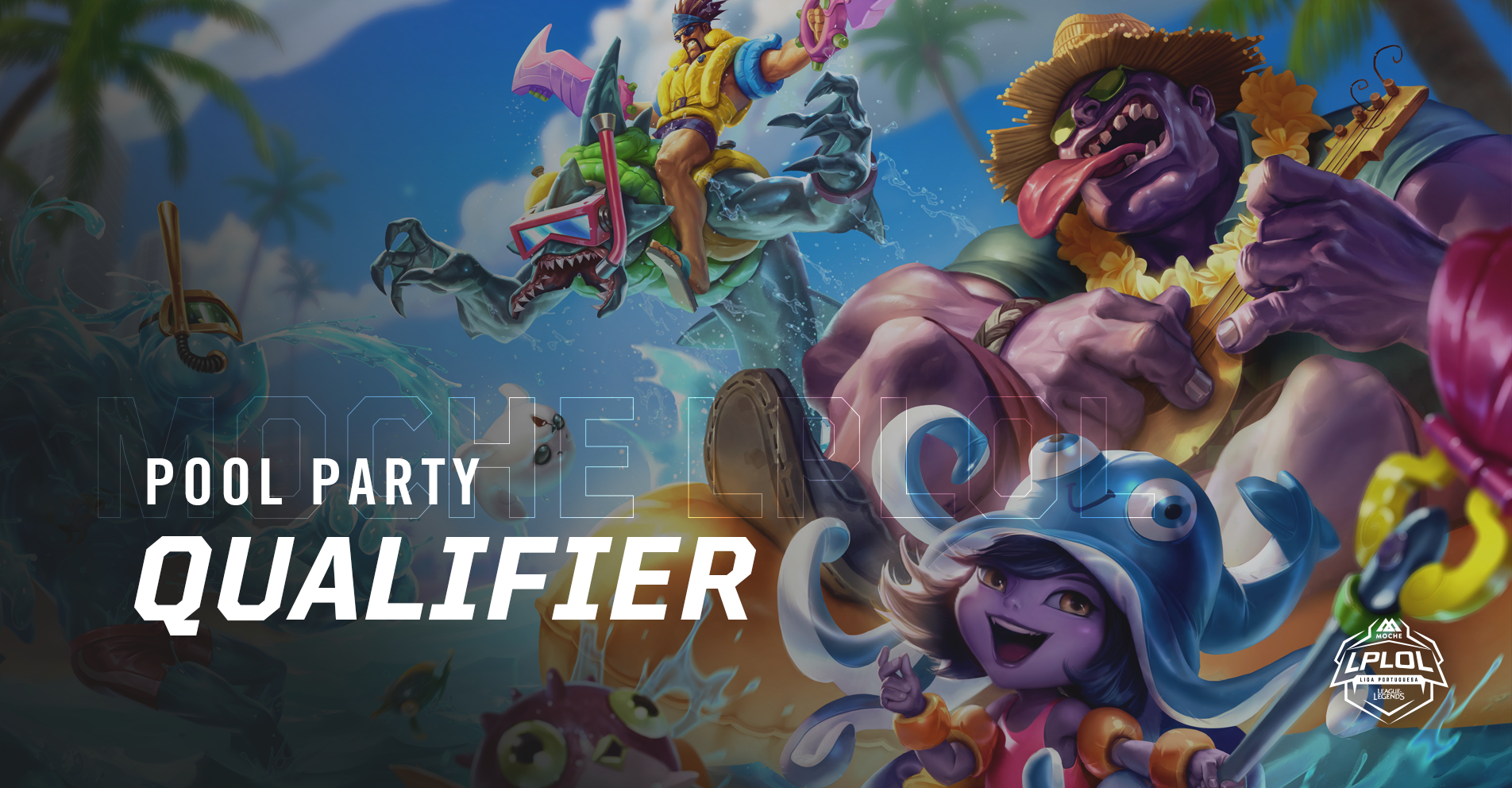 Bracket e horários do Pool Party Qualifier