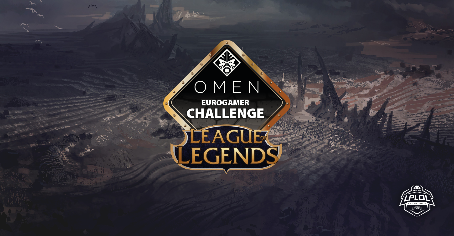 Regresso do Omen Eurogamer LoL Challenge!